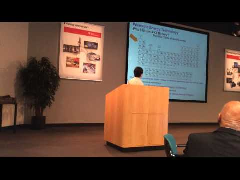 IEEE Technical Seminar on Wearable Energy Sources Aug. 2014