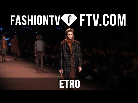 Etro F/W 16-17 Backstage   Milan Fashion Week : Men F/W 16-17   FTV.com