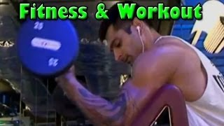 Qubool Hai Actor KARAN SINGH GROVER Shares Workout & Fitness TIPS