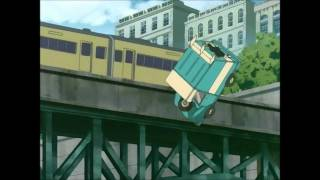 Worst Anime Car Chase of All Time