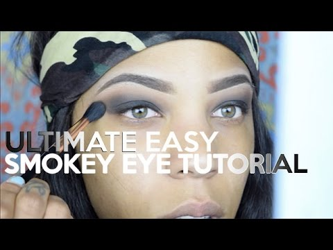 The Perfect Smokey Eye Tutorial for an Absolute Beginner!