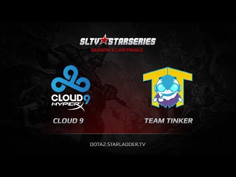 Cloud 9 vs Team Tinker SLTV StarSeries X Finals Day 2 Game 1