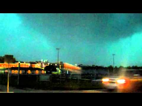Tornado 5/31/13 8pm at 94&hwy D at Frances Howell High School