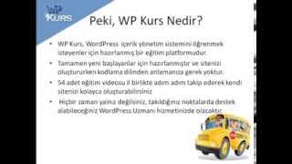 WP Kurs Wordpress Dersleri