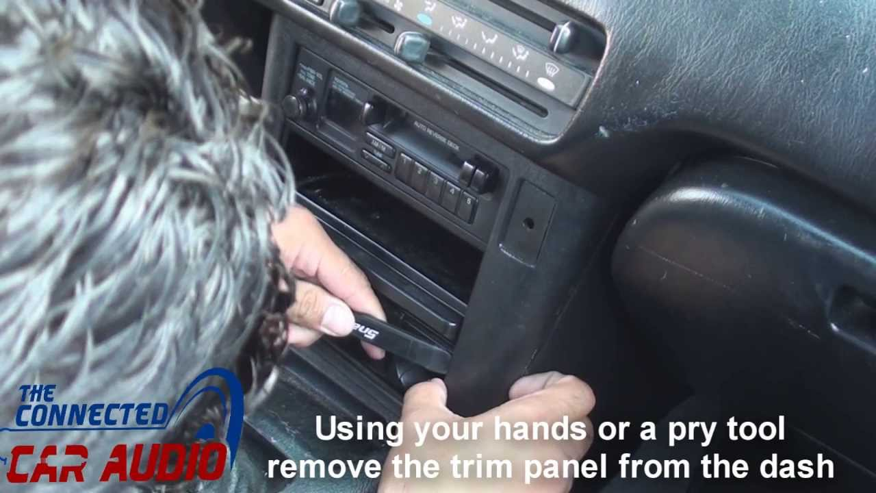 remove factory    stereo       Tercel       1991   1995  YouTube