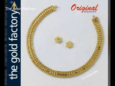 Latest Gold Design  Necklace sets
