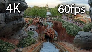 Splash Mountain front seat on-ride 4K POV @60fps Walt Disney World's Magic Kingdom