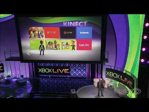 Microsoft E3 Kinect Video Kinect Demo