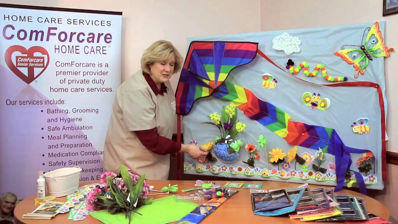 Bulletin Board Ideas For Nursing Homes Senior Care YouTube