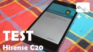 Test : Hisense C20, un smartphone étanche performant et pas cher (2/2)