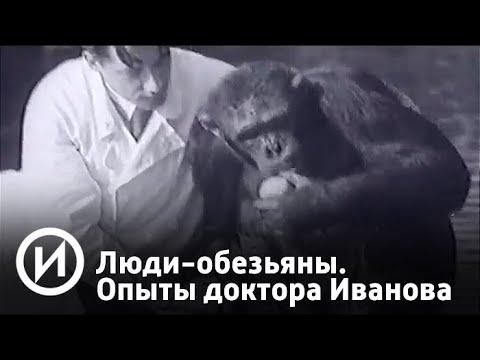 Люди-обезьяны. Секретные опыты доктора Иванова | Телеканал История