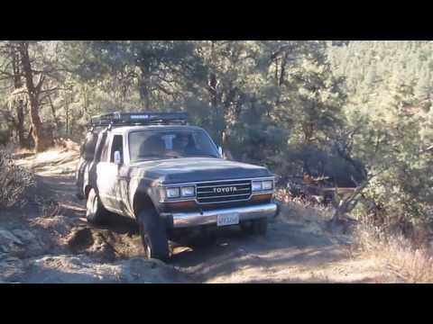 FJ62 Land Cruiser Off-Roading @ Frazier Park