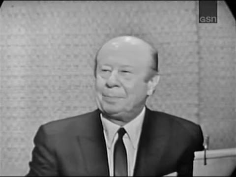 What's My Line? - Bert Lahr; Congressman Lindsay [panel] (Feb 23, 1964) [WITH COMMERCIALS]