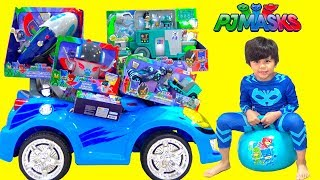 BIGGEST PJ Masks Toy Collection Opening Fun Catboy Gekko Owlette With TBTFUNTV