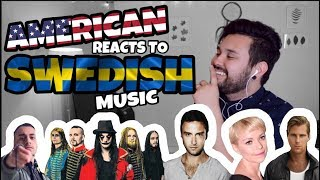 American REACTS // Swedish Music