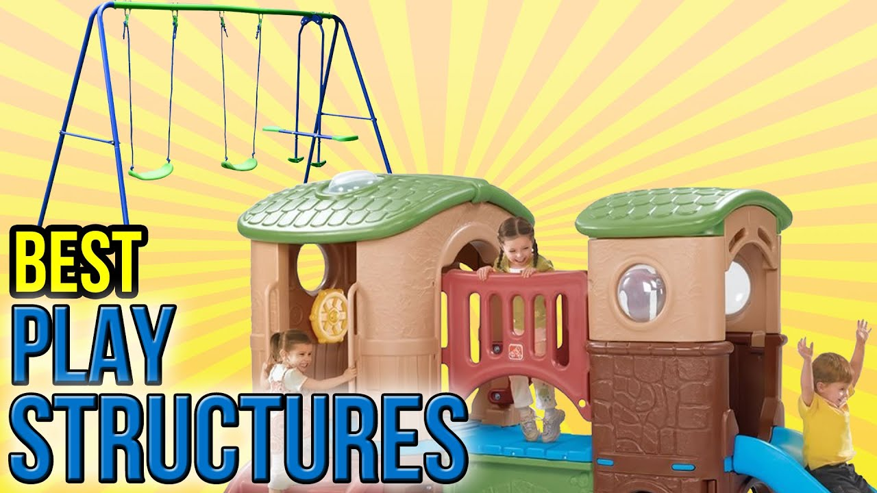 10 Best Play Structures 2016