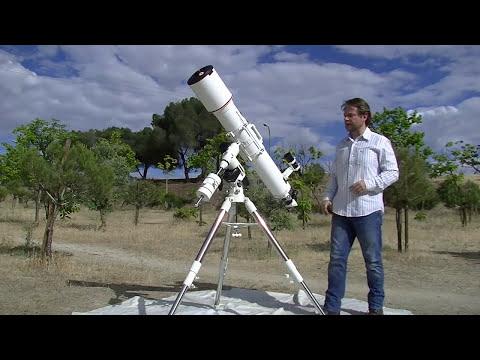Montaje y puesta en estación de una montura ecuatorial