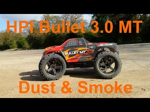 HPI Bullet 3.0 Monster Truck - Dust And Smoke