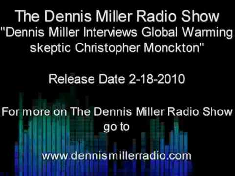 Part 1 - Dennis Miller Interviews Global Warming Skeptic Christopher Monckton (2-18-2010)