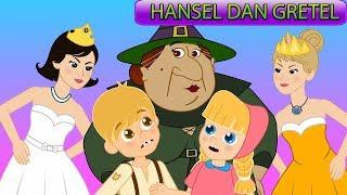 Hansel dan Gretel - Dua Belas Putri Menari - Kartun Anak - Dongeng Bahasa Indonesia