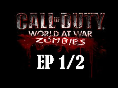 CALL OF DUTY WAW! - NAZI ZOMBIES! -EP 1 (1/2) FT.KrauSer y LaggyMan!