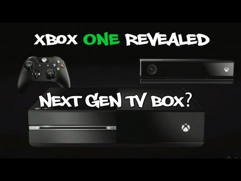 Xbox ONE Revealed;Microsoft's Next Gen TIVO- My Thoughts