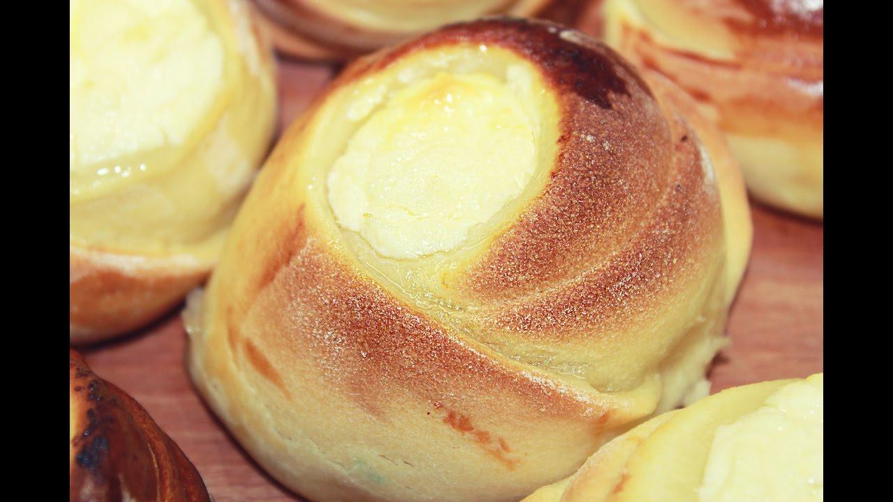 Как приготовить вкусные ватрушки с творогом пошагово