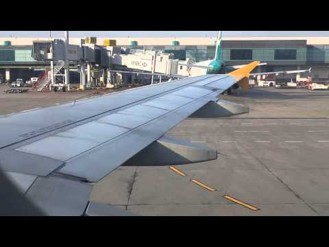 Tiger Airways A320 Pushback and Engine Start (SIN-BKK) Part 1