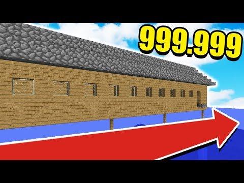 САМЫЙ ДЛИННЫЙ ДОМ В МАЙНКРАФТЕ В 999,999 БЛОКОВ! ТРОЛЛИНГ