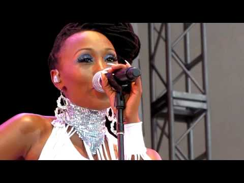 Nile Rodgers&Chic, Diana Ross/Sister Sledge Medley, Damrosch Park, NYC 7-25-12