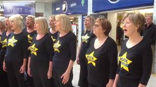 Eastbourne Rock Choir Flash Mob - Hallelujah