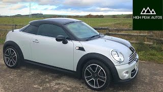 Should you buy the strange MINI COOPER COUPE? (Quick Test Drive and Review)