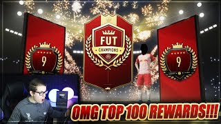 FIFA 19: OMG PLATZ 9 DER WELT TOP 100 FUT CHAMPIONS REWARDS! 😱😱 FIFA 19 Ultimate Team Pack Opening