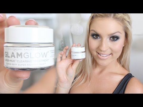 Favorite Face Mask Review & Demo! ♡ Glamglow Super-Mud Clearing Treatment!