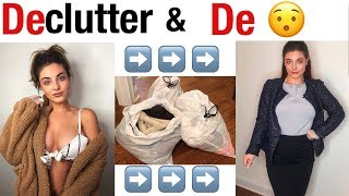 DECLUTTERING & CHANGING MY LOOK COMPLETELY! 2019 try on clothing