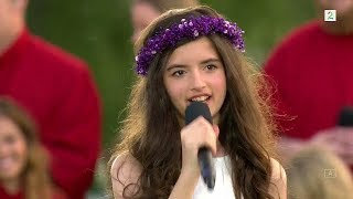 Angelina Jordan (11) - Its Now Or Never - TV2 Norway - 2017 (Captioned)