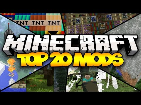 TOP 20 MINECRAFT MODS 1.7.10 2014 HD