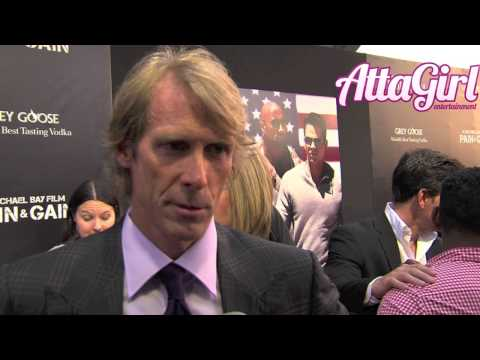 Director Michael Bay talks Pain & Gain at Miami Premiere