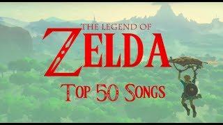 TOP 50 Legend of Zelda Songs (2017)