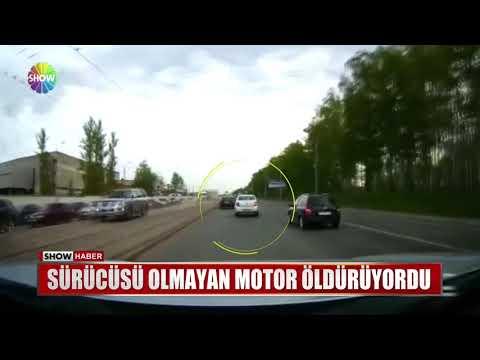 Sürücüsü olmayan motor öldürüyordu