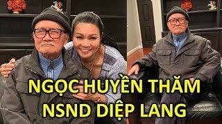 Ngọc Huyền thăm Nghệ sĩ Diệp Lang tại Mỹ đầy xúc động - TIN GIẢI TRÍ