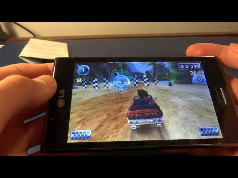 Beach Buggy Blitz on LG Optimus/Swift L7 [P700]