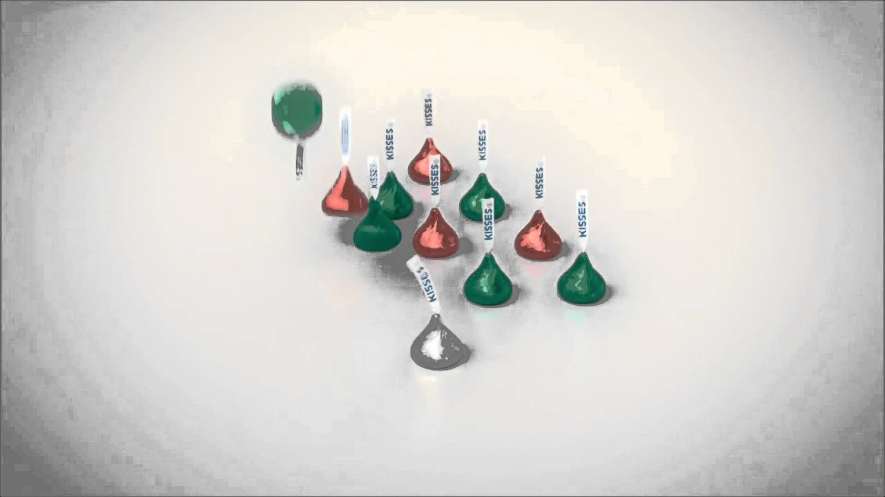 Hershey Kisses Christmas Commercial - YouTube