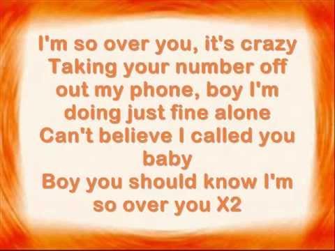 Auburn-So Over You With lyrics