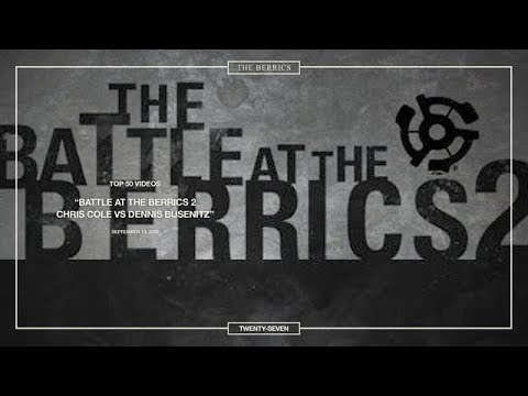 Berrics Top 50: 27 | BATB2 - Chris Cole vs. Dennis Busenitz