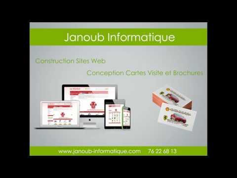 JANOUB INFORMATIQUE : Agence de Publicité - Gafsa