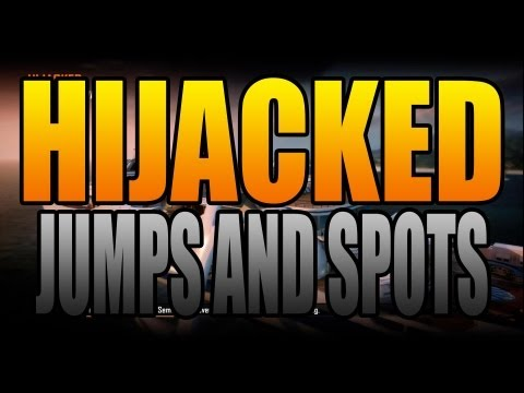 BO2 Jumps and Spots - Hijacked (Black Ops 2)
