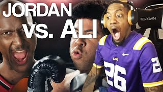 Michael Jordan vs Muhammad Ali. Epic Rap Battles of History (REACTION!!!)