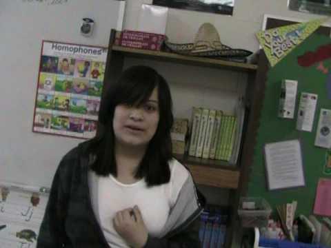 2009 Stay in School Contest - Angelica Lamas, West Hoke Middle School
