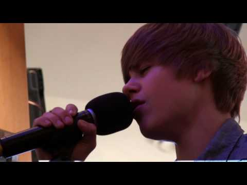 Justin Bieber performs 'That Should Be Me' - LIVE at POWER 106
